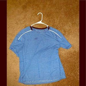 Blue large lululemon workout T-shirt unisex
